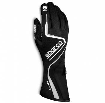 Sparco - Sparco Lap Racing Glove Small Black/Black - Image 1