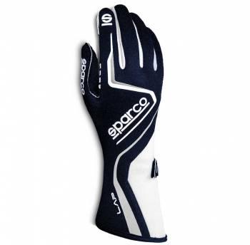 Sparco - Sparco Lap Racing Glove Medium Navy/White - Image 1