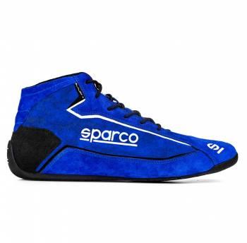 Sparco - Sparco Slalom+ Suede Racing Shoe 39 Blue - Image 1