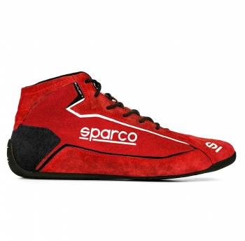 Sparco - Sparco Slalom+ Suede Racing Shoe 39 Red - Image 1