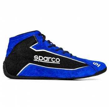 Sparco - Sparco Slalom+ Fabric Racing Shoe 38 Blue - Image 1