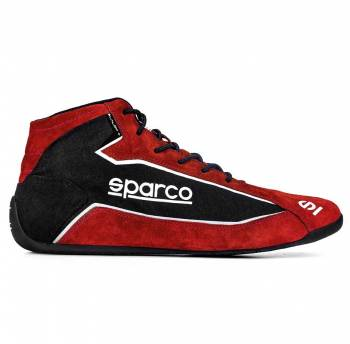 Sparco - Sparco Slalom+ Fabric Racing Shoe 38 Red - Image 1