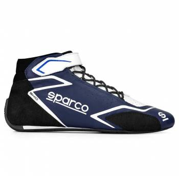 Sparco - Sparco Skid Racing Shoe 38 Navy/White - Image 1