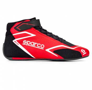 Sparco - Sparco Skid Racing Shoe 38 Red/Black - Image 1