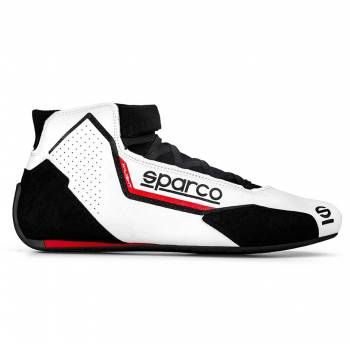 Sparco - Sparco X-Light Racing Shoe 38 White/Red - Image 1
