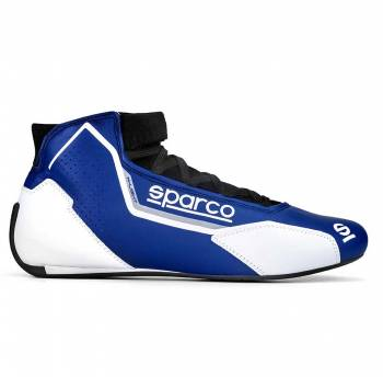 Sparco - Sparco X-Light Racing Shoe 43 Blue/White - Image 1