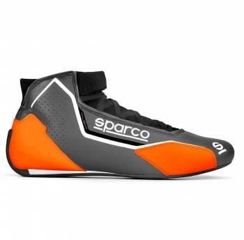 Sparco - Sparco X-Light Racing Shoe 46 Gray/Orange - Image 1