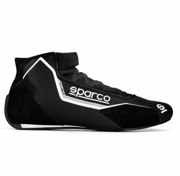 Sparco - Sparco X-Light Racing Shoe 47 Black/Gray - Image 1