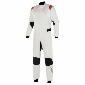 Alpinestars - Alpinestars Hypertech V2 Suit 58 White/Red - Image 1