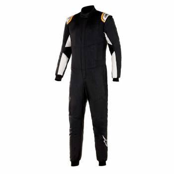 Alpinestars - Alpinestars Hypertech V2 Suit 54 Black White/Orange Flou - Image 1