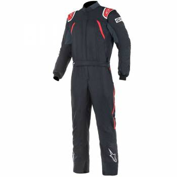 Alpinestars - Alpinestars GP Pro Comp Racing Suit 52 BLACK/RED - Image 1