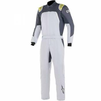 Alpinestars - Alpinestars GP Pro Comp Racing Suit 60 Silver Blue/Asphalt/Lime - Image 1