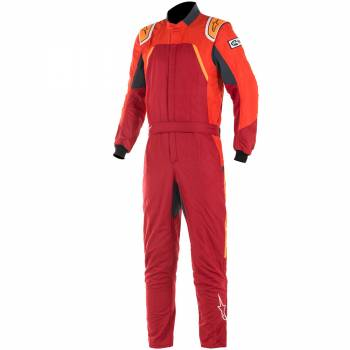 Alpinestars - Alpinestars GP Pro Comp Racing Suit 64 Red/Orange Flou - Image 1