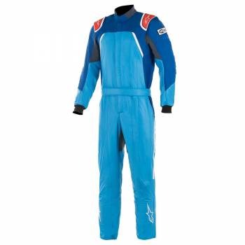Alpinestars - Alpinestars GP Pro Comp Racing Suit 50 Cobalt Blue/Royal Blue/Red - Image 1