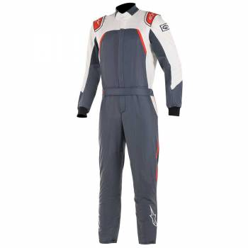 Alpinestars - Alpinestars GP Pro Comp Racing Suit 60 Asphalt/Red/White - Image 1