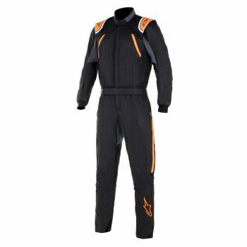 Alpinestars - Alpinestars GP Pro Comp Racing Suit 60 BLACK/Orange Flou - Image 1