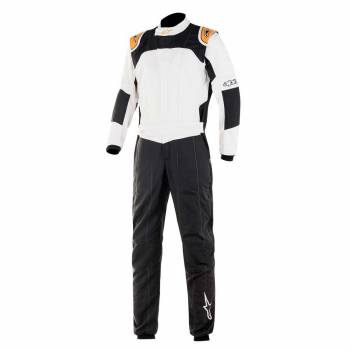 Alpinestars - Alpinestars GP Tech V3 Racing Suit  52 Black/White/Orange Fluorescent - Image 1