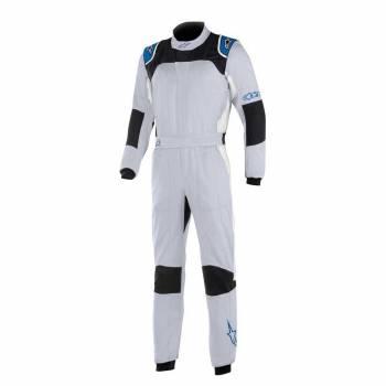 Alpinestars - Alpinestars GP Tech V3 Racing Suit  46 SILVER BLUE/ROYAL BLUE - Image 1