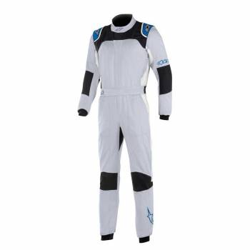 Alpinestars - Alpinestars GP Tech V3 Racing Suit  62 SILVER BLUE/ROYAL BLUE - Image 1