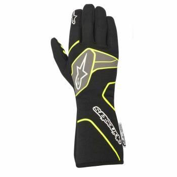 Alpinestars - Alpinestars Tech-1 Race V2 Race Glove Medium Black/Yellow Flou - Image 1