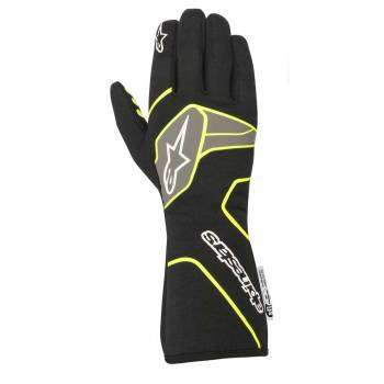 Alpinestars - Alpinestars Tech-1 Race V2 Race Glove Large Black/Yellow Flou - Image 1