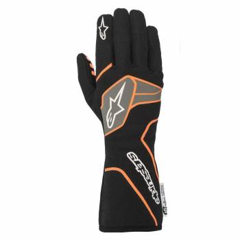 Alpinestars - Alpinestars Tech-1 Race V2 Race Glove Small Black/Orange Flou - Image 1