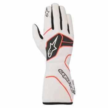 Alpinestars - Alpinestars Tech-1 Race V2 Race Glove Medium White/Black/Red - Image 1