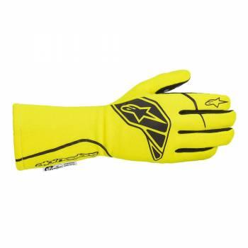 Alpinestars - Alpinestars Tech-1 Start V2 Glove Small Yellow Flou/Black - Image 1