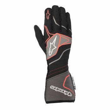 Alpinestars - Alpinestars Tech-1 ZX V2 Race Glove Small Black/Anthracite/Red - Image 1
