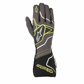 Alpinestars - Alpinestars Tech-1 ZX V2 Race Glove Small Black/Orange Flou - Image 1