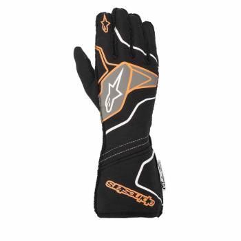 Alpinestars - Alpinestars Tech-1 ZX V2 Race Glove Large Black/Orange Flou - Image 1