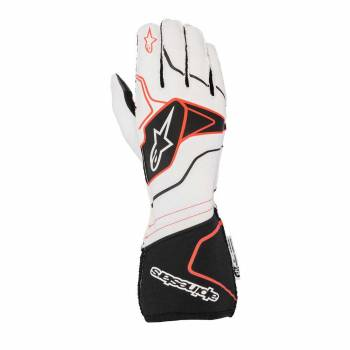 Alpinestars - Alpinestars Tech-1 ZX V2 Race Glove Small Navy/Black/Red - Image 1