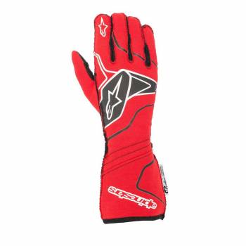 Alpinestars - Alpinestars Tech-1 ZX V2 Race Glove Small White/Black/Red - Image 1