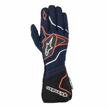 Alpinestars - Alpinestars Tech-1 ZX V2 Race Glove Small Anthracite/Yellow Flou/Black - Image 1