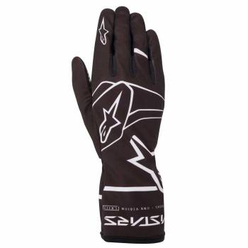 Alpinestars - Alpinestars Tech-1 K Race V2 Karting Glove Solid Large Black/White - Image 1