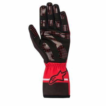 Alpinestars - Alpinestars Tech-1 K Race V2 Karting Glove Solid Large Red/Black/Gray - Image 1