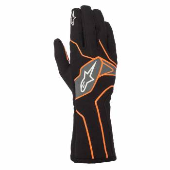 Alpinestars - Alpinestars Tech-1 K V2 Karting Glove Small Black/Orange Flou - Image 1