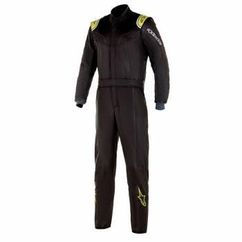 Alpinestars - Alpinestars Stratos Racing Suit 56 Black/Lime Green - Image 1