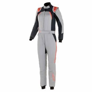Alpinestars - Alpinestars GP Pro Stella Comp Racing Suit 44 MID GRAY/BLACK/CORAL - Image 1
