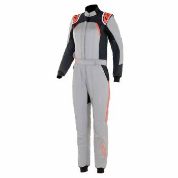 Alpinestars - Alpinestars GP Pro Stella Comp Racing Suit 40 MID GRAY/BLACK/CORAL - Image 1