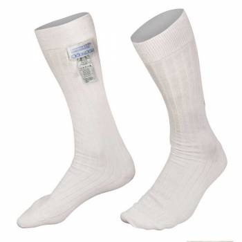 Alpinestars - Alpinestars Nomex Racing Socks V3 Medium White - Image 1