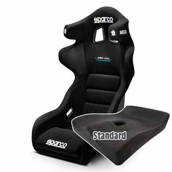Sparco - Sparco Pro ADV QRT Racing Seat, Standard UPR Seat Pad - Image 1