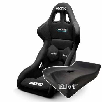 Sparco - Sparco Pro 2000 QRTRacing Seat, Tall UPR Seat Pad - Image 1