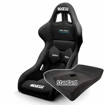 Sparco - Sparco Pro 2000 QRT Racing Seat, Standard UPR Seat Pad - Image 1