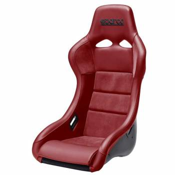 Sparco - Sparco QRT Performance, Red Leather Racing Seat - Image 1