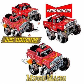UPR - Bud Honcho Sticker Pack - Image 1