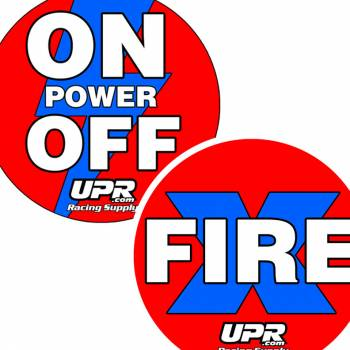 UPR - Fire Extinguisher & Master Power Sticker Pack - Image 1