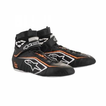 Alpinestars - Alpinestars Tech-1 Z V2 Racing Shoe 9.0 Black/White/Orange - Image 1