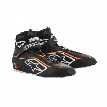 Alpinestars - Alpinestars Tech-1 Z V2 Racing Shoe 9.5 Black/White/Orange - Image 1