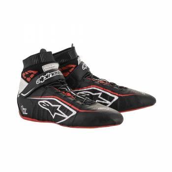 Alpinestars - Alpinestars Tech-1 Z V2 Racing Shoe 9.5 Black/White/Red - Image 1